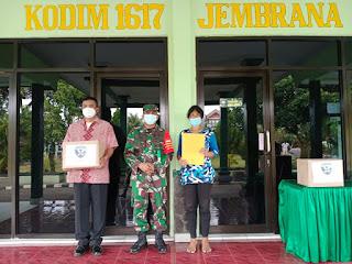 Bingkisan Hari Raya Idul Fitri Bagi Warakawuri Dan Penyandang Disabilitas di Wilayah Kabupaten Jembrana