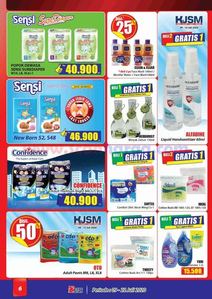 Katalog Promo Hari Hari Pasar Swalayan 9 - 22 Juli 2020 6