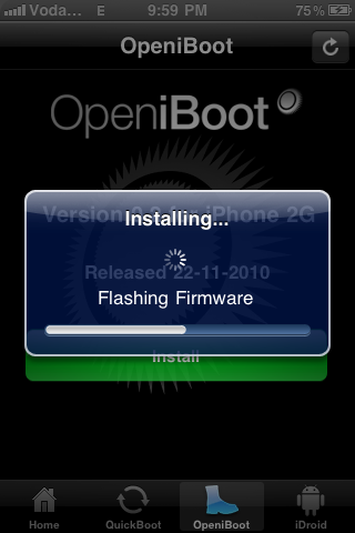 open iboot cydia iphone