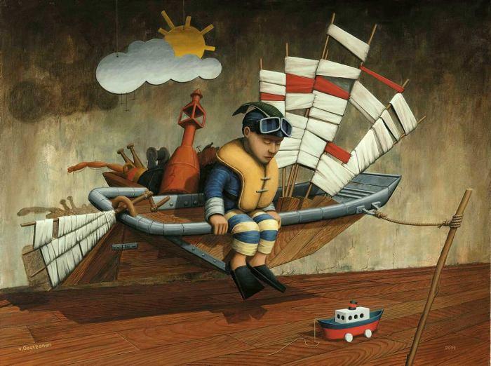 Воображаемый мир. Peter van Oostzanen