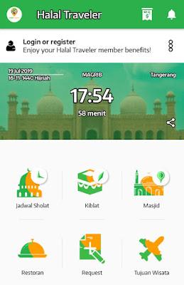 fitur lengkap halal traveler apps