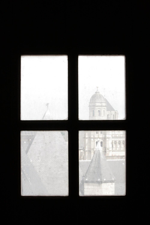 Fenêtre depuis la tour