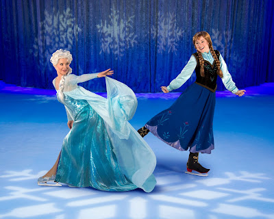 Disney on Ice Anna and Elsa from Frozen in Newcastle