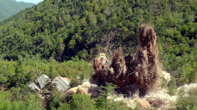 La última prueba nuclear de Corea del Norte fue 17 veces más potente que la bomba de Hiroshima
