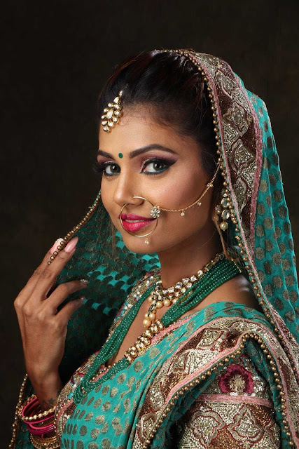 Indian Wedding bride makeup images