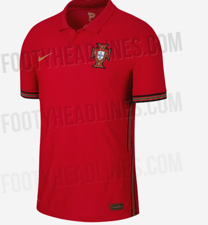 Portugal Euro 2020 Kits home