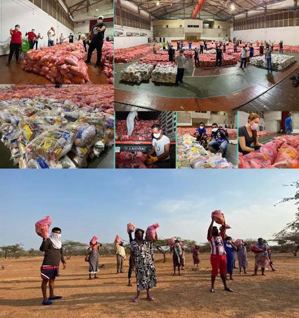 Cerrejón entrega 25 mil mercados en 359 comunidades étnicas