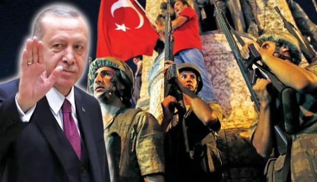«Κάλπικο» το πραξικόπημα, ήξερε τα πάντα ο Ερντογάν