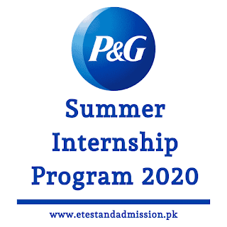 P&g Summer Internship Program 2020