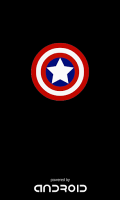 Splashscreen Capten America Lenovo A369I, splashscreen android, splashscreen.ga