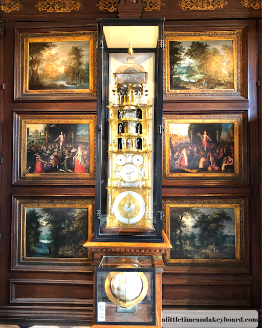 Isaac Hebrecht Astronomical Clock at Rosenborg Castle