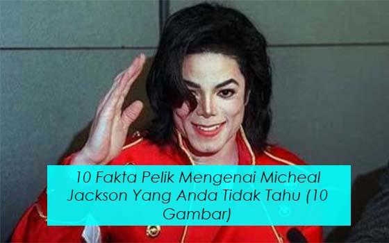 KETAHUI 10 PERKARA PELIK TENTANG MJ DI SEPANJANG HAYATNYA