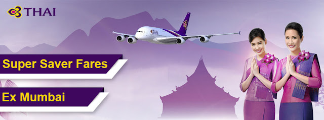 Thai Airways Super Saver Fares, aksharonline.com, akshar infocom