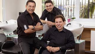 Cuiteense Jassa é cabeleireiro de Silvio Santos há 40 anos; saiba como se conheceram