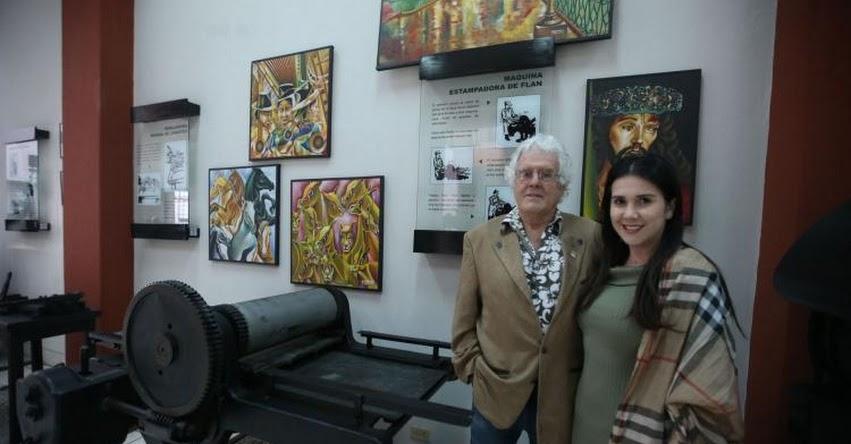 Inauguran muestra de arte ayacuchano en museo gráfico del diario El Peruano - www.elperuano.com.pe