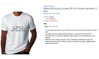 Cocaine Shirt