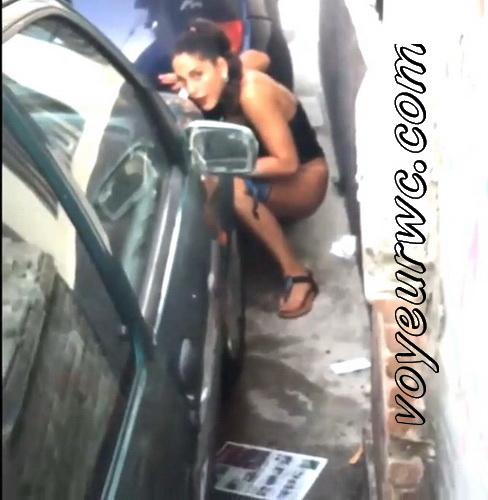 Girls Gotta Go 96 (Spanish drunk girls pee in a public place)