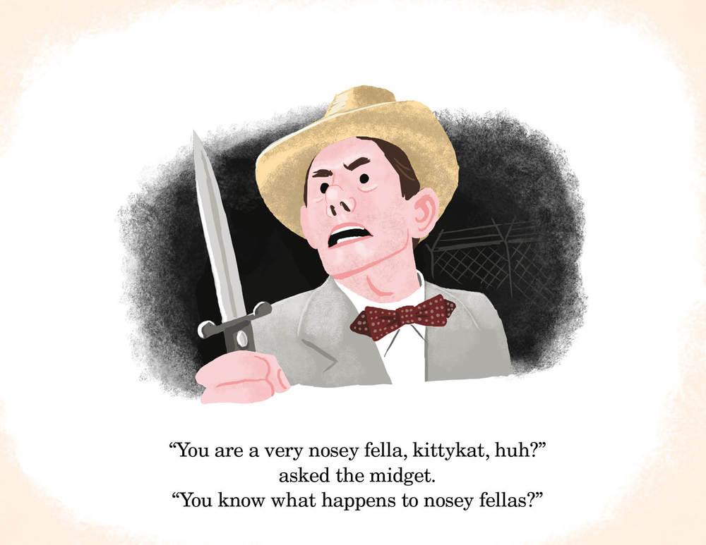 Ilustrador da Pixar recria cenas de filmes clássicos