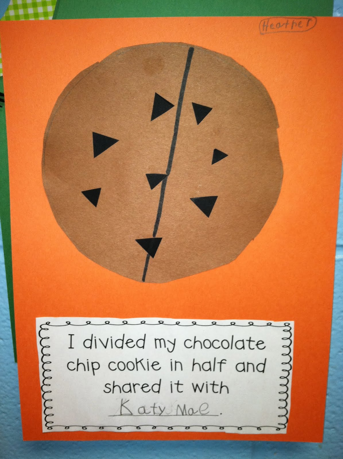 Life In First Grade Reading Math Centers And Chocolate Chip Cookie Halves