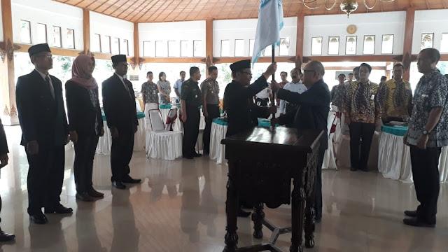 Kodim Sragen - Kasdim Kodim Sragen Hadiri Pelantikan Pengurus Dewan Pimpinan Kabupaten (DPK) APINDO