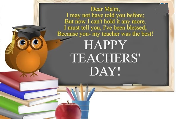Nice messages for teachers
