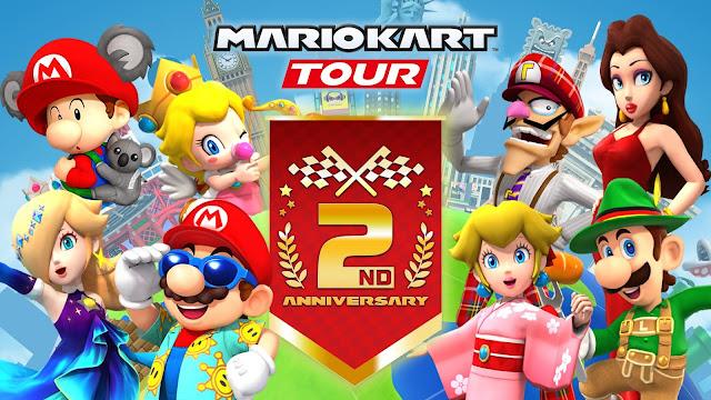 Mario Kart Tour (Mobile) terá Tour de aniversário de dois anos
