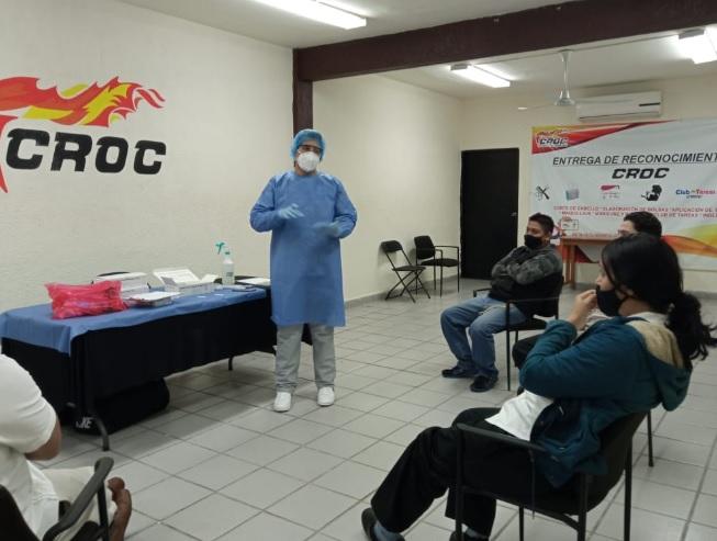 A ningún costo las pruebas de CROC para sus afiliados... ¡Primero la salud!