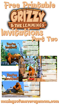 Grizzly and the Lemmings Birthday