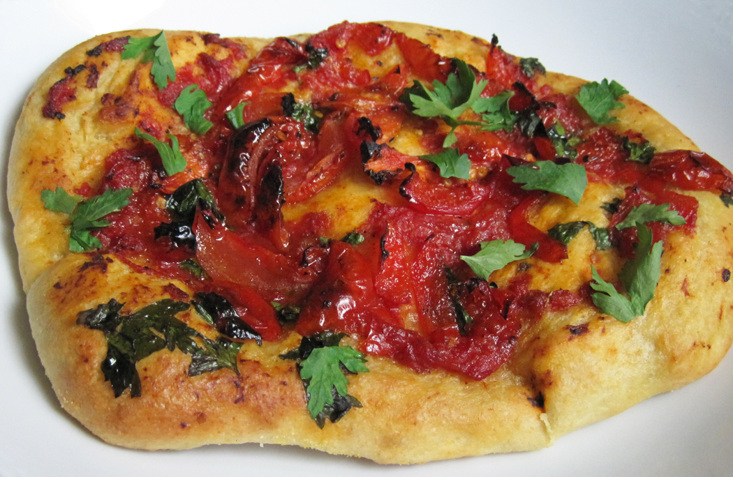 Piquanté Pepper and SunBlush Tomato Flatbread