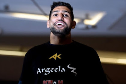 Amir Khan also believes the Corona Virus is related to the 5G Conspiracy