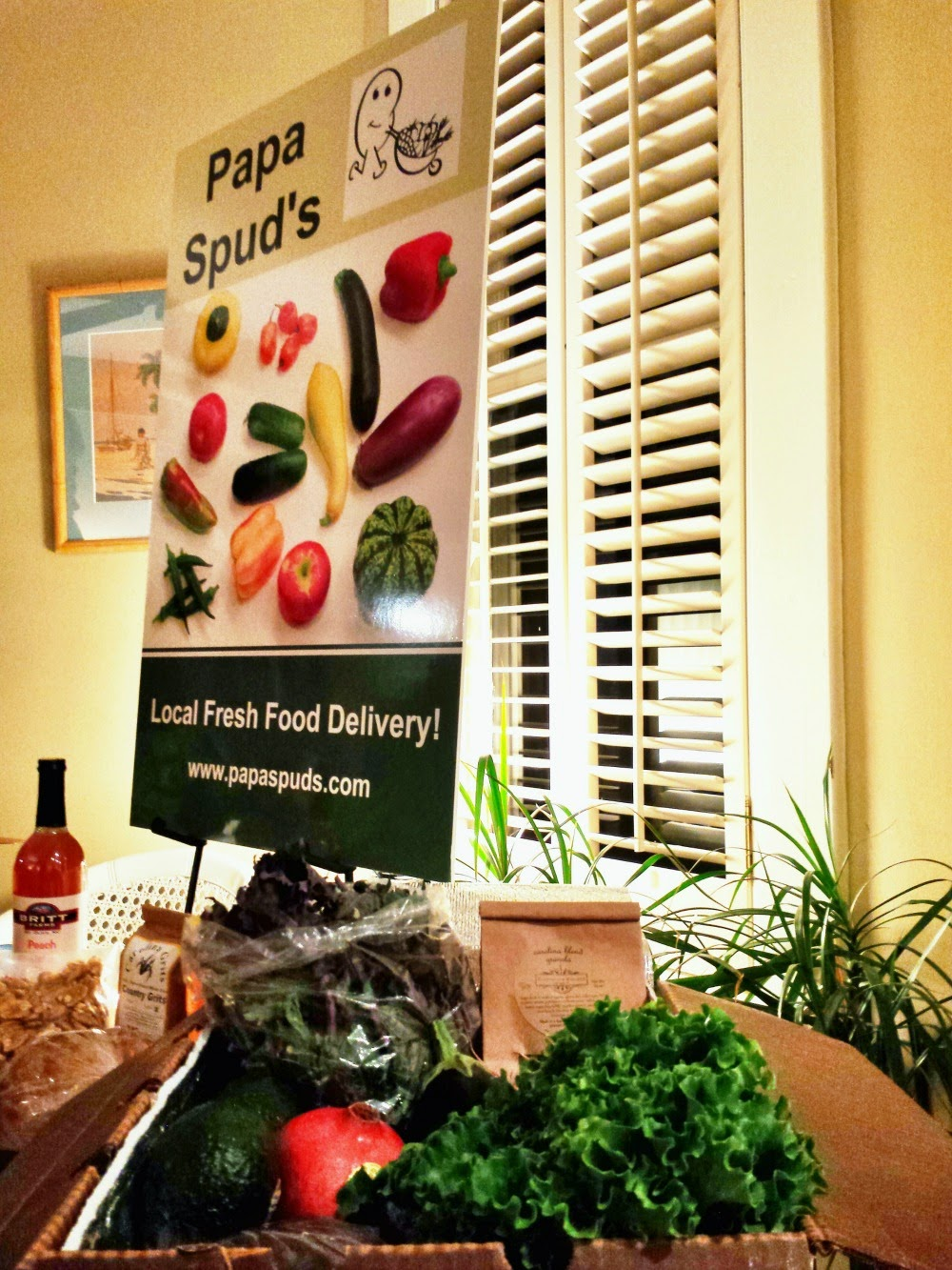 local and fresh food delivery; Papa Spud's serving Raleigh, Durham, and Chapel Hill
