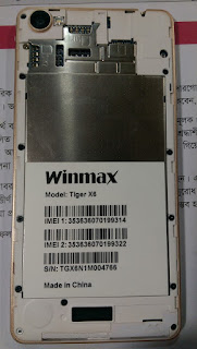 Firmware Winmax X6 Stock ROM Free Download
