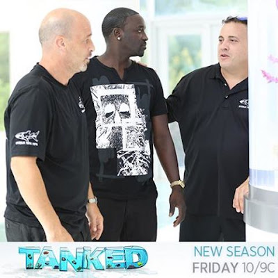 I'm on the season premiere of Tanked this Friday