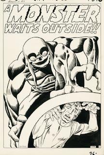 OA - Tales to Astonish #12 - A Monster Waits Outside!! pg 1