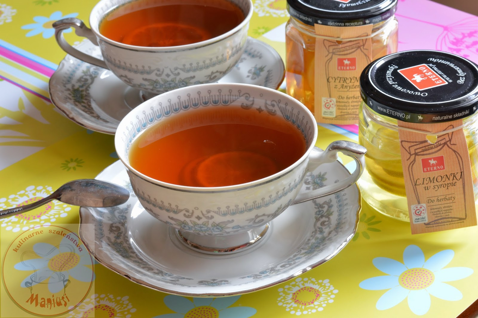 Limonka I Cytrynka W Herbacie Kulinarna Maniusia Blog Kulinarny