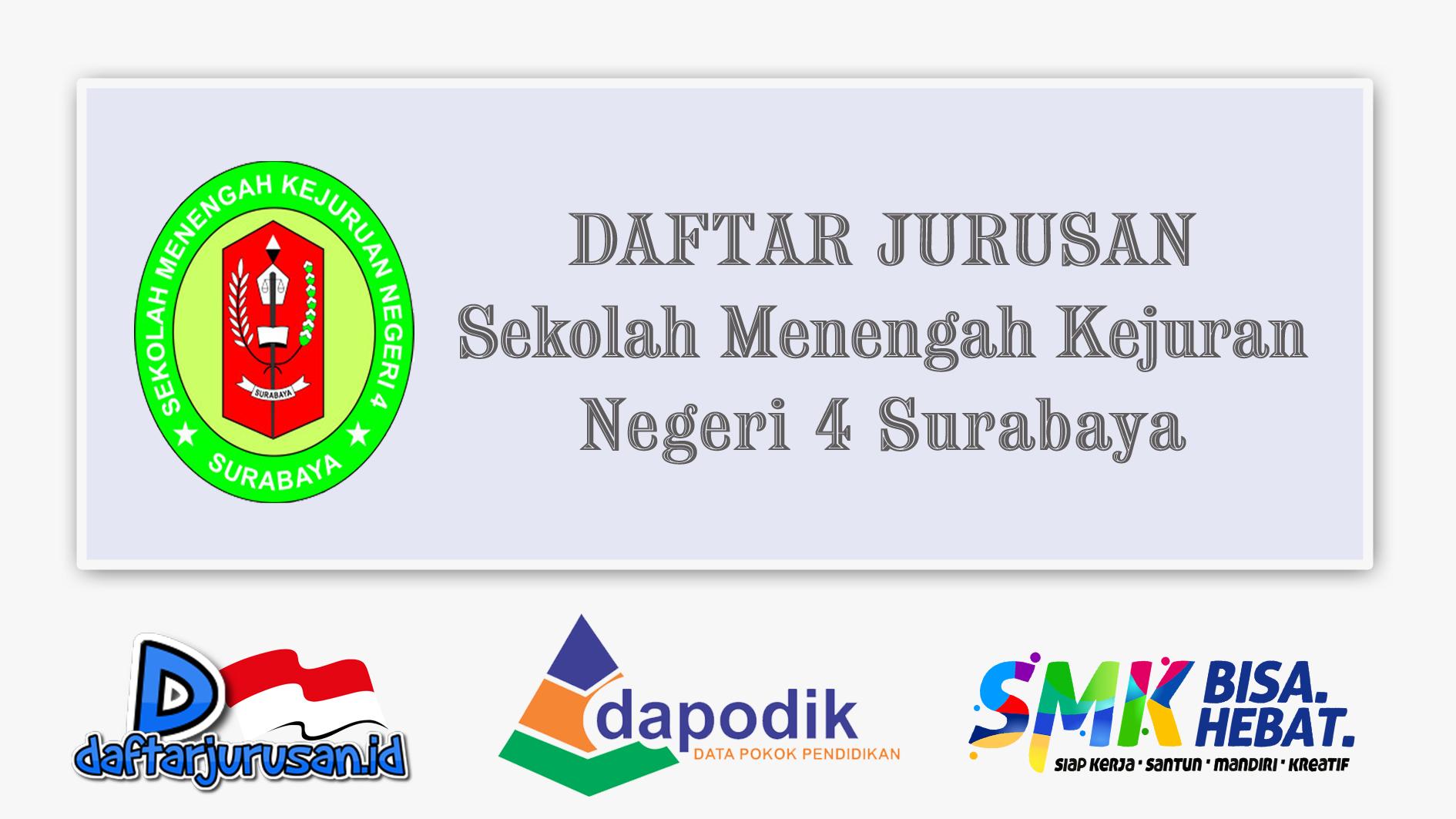 Daftar Jurusan SMK Negeri 4 Surabaya
