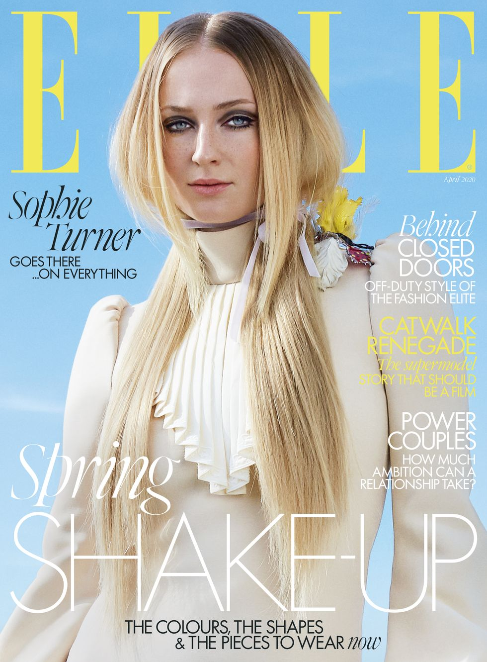 Sophie Turner – ELLE Magazine April 2020
