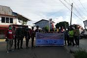 Kwartir Ranting Gerakan Pramuka Tayan Hilir Membagikan Masker Di Tayan