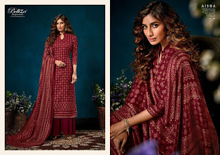 Belliza Designer Aisha Pashmina Collection