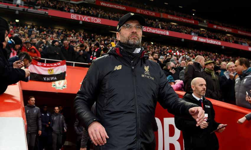 Fans will return to Anfield as Liverpool play host to Crystal Palace