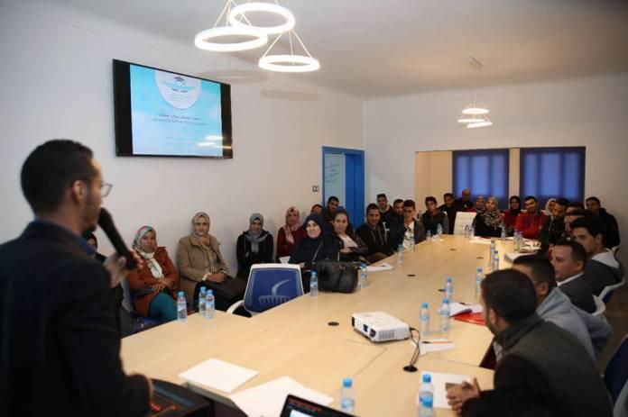 منظمة الطلبة التجمعيين تواصل الدورات التدريبية بجامعة السلطان مولاي اسليمان ببني ملال