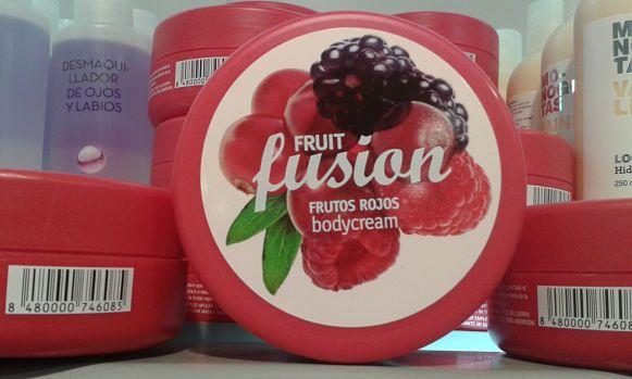 Body Cream Frutos Rojos Mercadona
