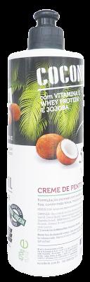 Ingredientes da Composição Coconut Oil Euroderm - Creme para Pentear  Resenha