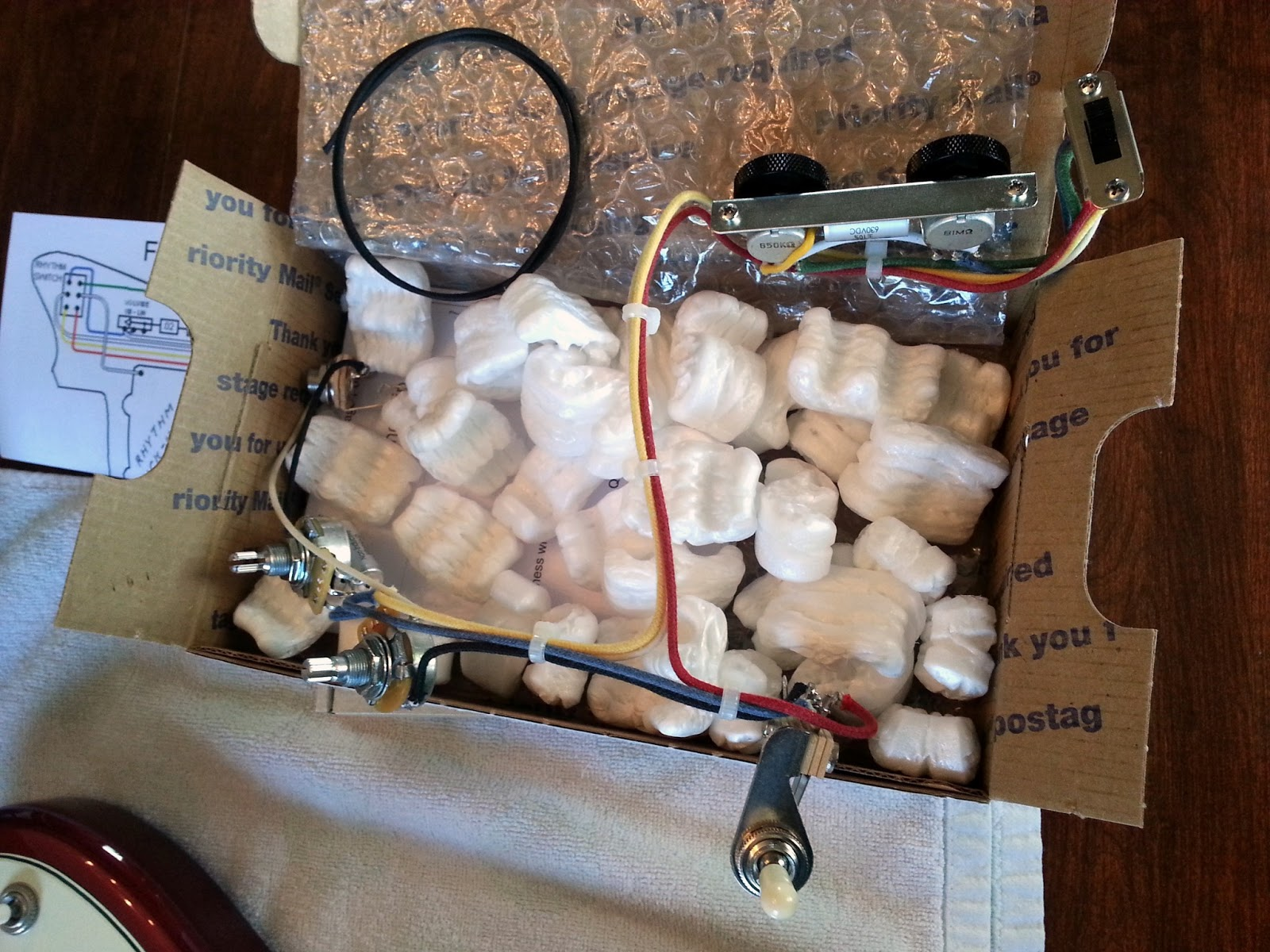 Upgrading ALL Fender Jazzmaster wiring and electronics in ... on fender jaguar manual, fender jaguar switches, fender jaguar wiring kit, fender esquire wiring harness, fender jaguar hardware, fender stratocaster wiring harness,
