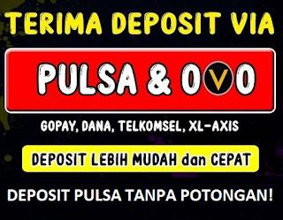 Terima Deposit via Pulsa
