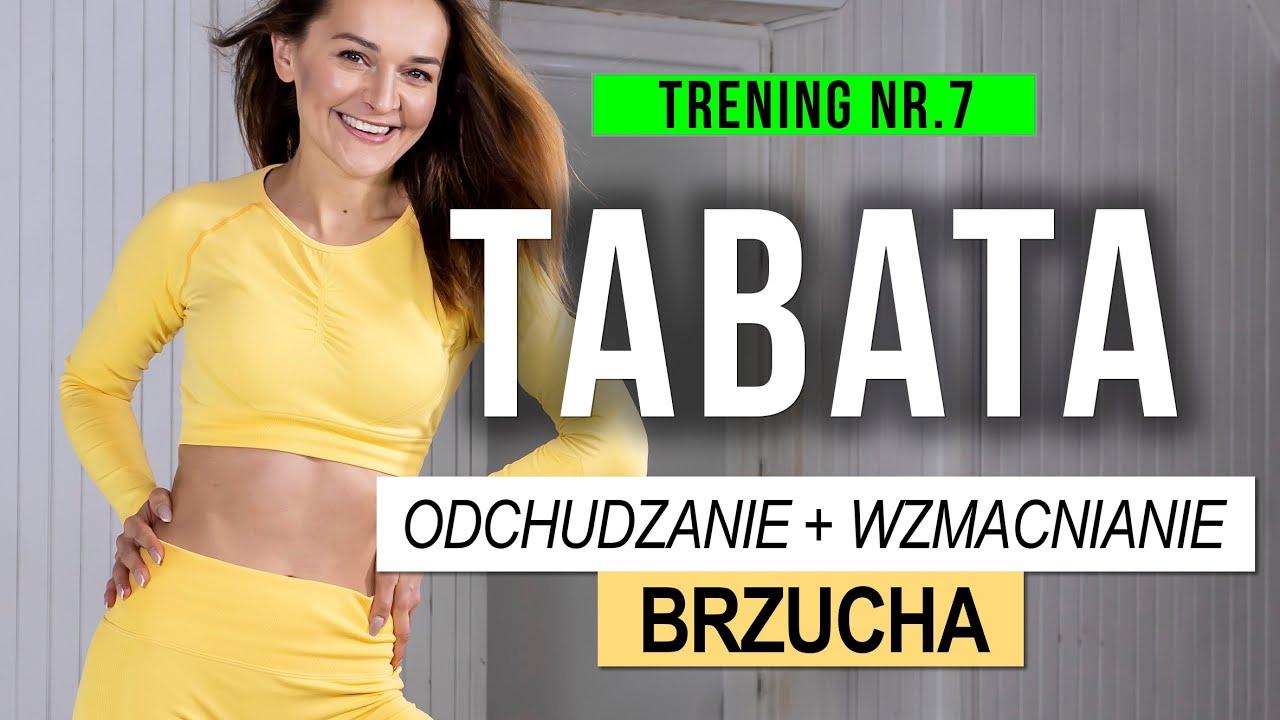 Odchudzający trening TABATA + BRZUCH - Wideo