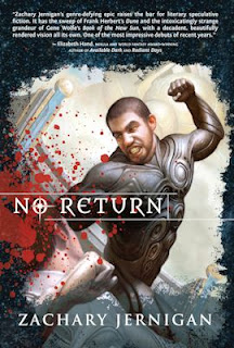 Guest Blog by Zachary Jernigan, author of No Return - February 9, 2013