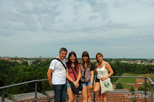 La familia Juliusturm de la ciudadela de Spandau