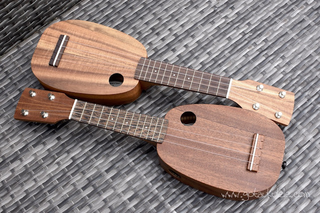 DJM Mini Pineapple Ukulele pair