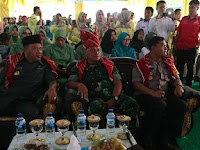 Danrem 022/PT Hadiri Pencanangan Desa Bersih Narkoba (Bersinar) di Desa Namo Sialang Kab Langkat